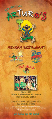 Adobo Mexican Restaurant Menu